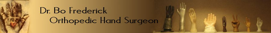Dr Bo Frederick and Dr. David Muzykewicz Orthopedic Hand Surgeons