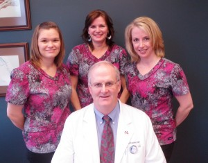 Dr Bo Frederick and Team